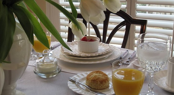 Здоровый сбалансированный завтрак