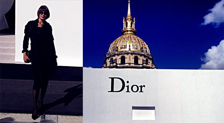 По горячим следам: репортаж с показа Dior на Paris Fashion Week