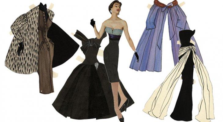 Ив сен лоран черное платье