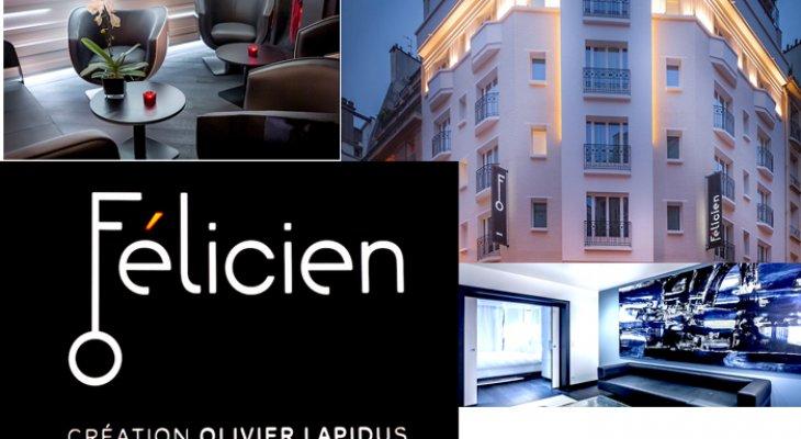 Отель Félicien – отдых в Париже, эстетическое наслаждение