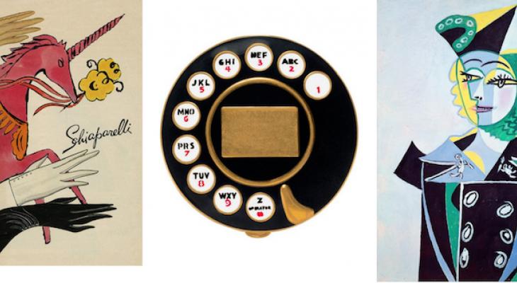 Дом Schiaparelli  сквозь призму Дали, Пикассо, Уорхолла...