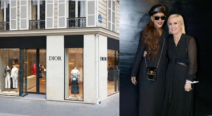 Дом Dior открывает временный бутик в Париже и не только
