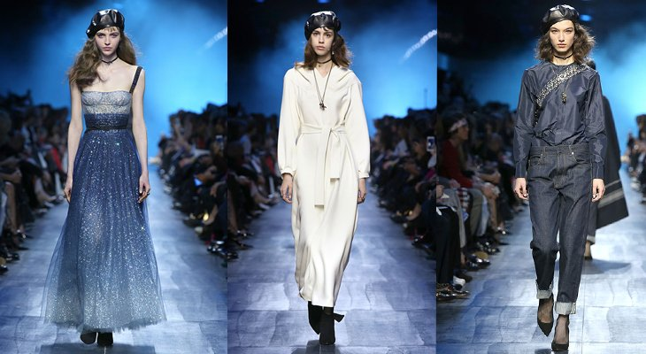 Показ Dior prêt-à-porter осень-зима 2017-2018